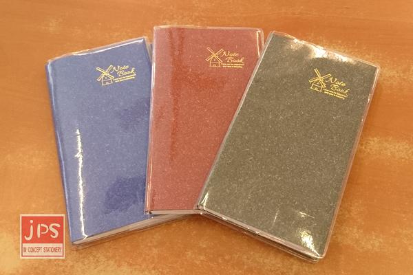 [泰欣] 60K進口紙附膠套手冊 膠皮 橫線 共三色 S60-880