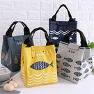 【超取299免運】日本可愛卡通牛津布加厚錫箔保溫袋 飯盒袋 便當包 手提包 便當袋 手提袋