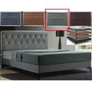 皮床 布床架 CV-169-21A 艾美6尺淺灰色雙人床(不含床墊及床上用品)【大眾家居舘】