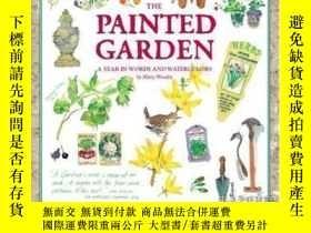 二手書博民逛書店Painted罕見Garden-彩繪花園Y436638 Mary Woodin Running Press,