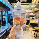 吸管杯 超大號2L大容量吸管塑料水杯男女運動戶外水壺帶刻度健身隨手杯子【快速出貨八折鉅惠】