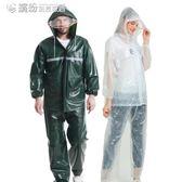 雨衣 電動電瓶車雨衣披女成人騎行自行摩托加厚分體套裝褲男防水徒步單 繽紛創意家居