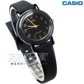 CASIO卡西歐 LQ-139AMV-1 復古數字小圓錶 橡膠錶帶 黑x金色 LQ-139AMV-1L  防水手錶 兒童 女錶