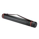 新型伸縮圖筒CT-1205 黑色 長75-135cm直徑10.5cm