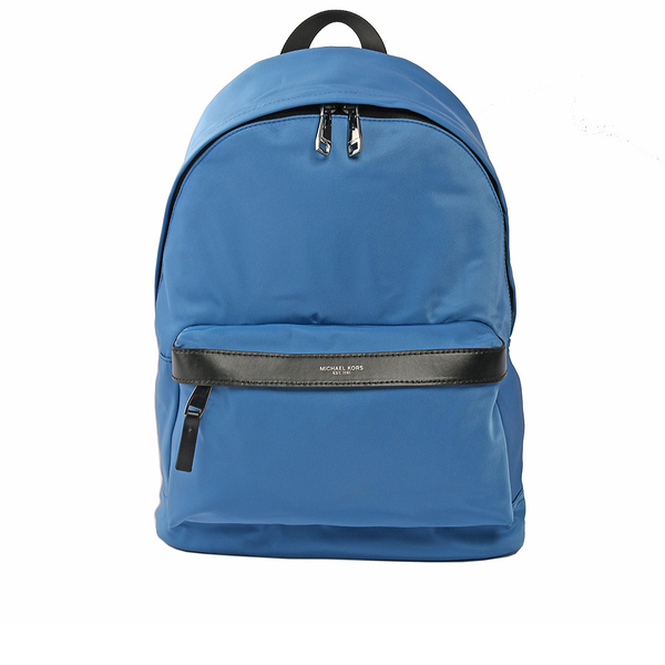 【MICHAEL KORS】尼龍後背包(中)(淺藍) 37H6LKNB2C FED