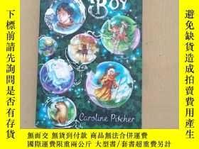 二手書博民逛書店the罕見shaman boy(英文原版)Y11026 caro