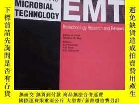 二手書博民逛書店Enzyme罕見and Microbial Technology