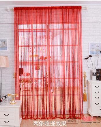 加長加密線簾展會裝飾門簾