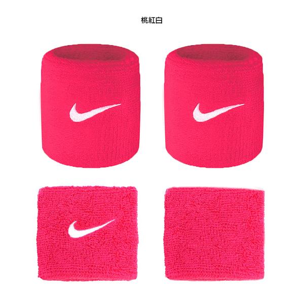 NIKE SwooSh 單色腕帶(慢跑 路跑 籃球 網球 羽球 一雙入≡體院≡ NNN04