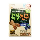ivenet 愛唯一穀物棒棒(40g)-藍莓12M+