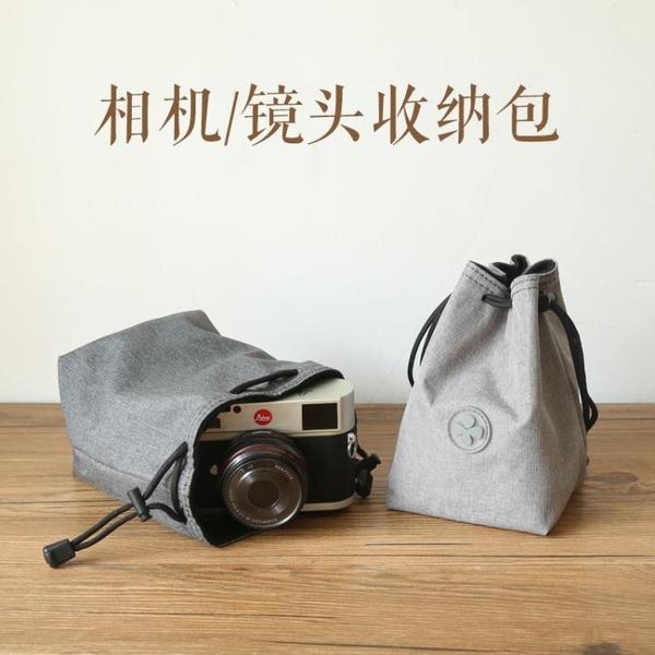相機收納包單反相機包內膽包微單保護套鏡頭攝影尼康佳能索尼富士便攜收納袋 韓國時尚週