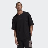 【母親節跨店折後$1780】adidas Originals R.Y.V. 男裝 短袖 T恤 寬鬆 純棉 LOGO 黑 GN3309