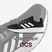 adidas 慢跑鞋 Galaxy 5 黑 白 女鞋 低筒 輕量 基本款 運動鞋 【ACS】 FW6125