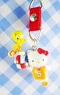 【震撼精品百貨】小黃鳥崔西_Tweety-KITTY聯名款-手機吊飾-紅球