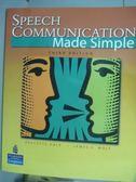 【書寶二手書T7/語言學習_QKY】Speech Communication Made Simple_Dale, Wol