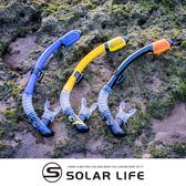 AROPEC C型100%全乾式矽膠呼吸管 Anemone海葵.浮潛呼吸管 全乾式呼吸管 C型呼吸管 矽膠潛水呼吸管