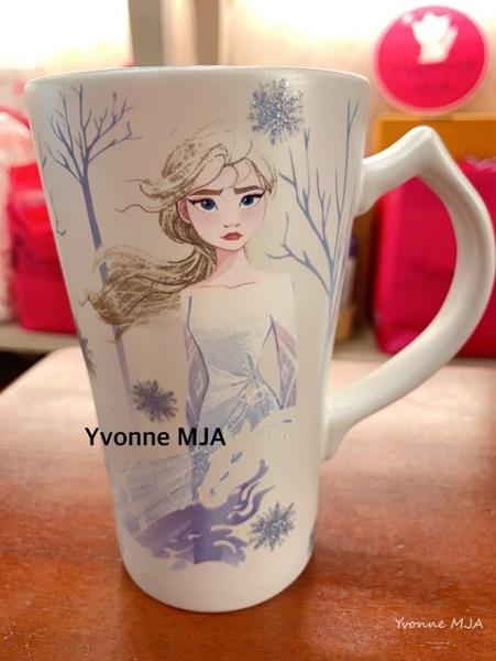 *Yvonne MJA*英國迪士尼預購區限定正品 冰雪奇緣2 艾紗 安娜 咖啡杯 啤酒杯