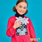 米奇系列厚棉上衣01亮桃紅-bossini女童