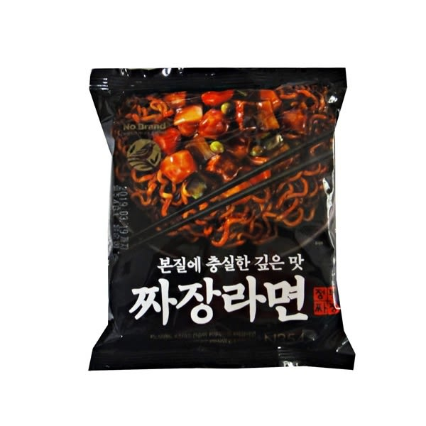 韓國No Brand炸醬麵 經典炸醬拉麵-135g