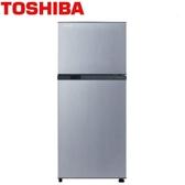 TOSHIBA 231公升雙門變頻冰箱GR-A28TS(S)