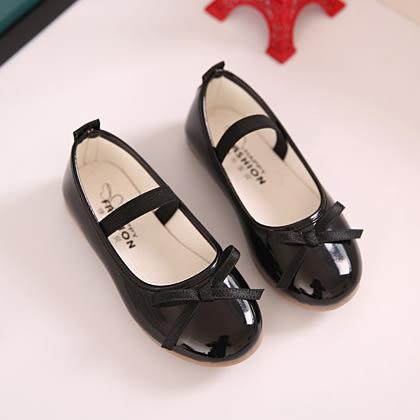 花童禮服 黑色亮面公主鞋 娃娃鞋 軟膠底  橘魔法Baby magic 現貨 兒童 童鞋  童裝 禮服 花童 皮鞋