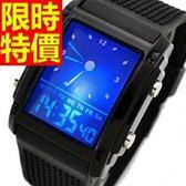 電子手錶-防水新款品味運動腕錶11色58j17[時尚巴黎]
