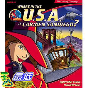 [106美國暢銷兒童軟體] Where in the U.S.A. Is Carmen Sandiego?