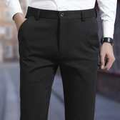 褲子男修身春季加絨加厚商務青年西褲男褲韓版小腳褲潮休閒褲男