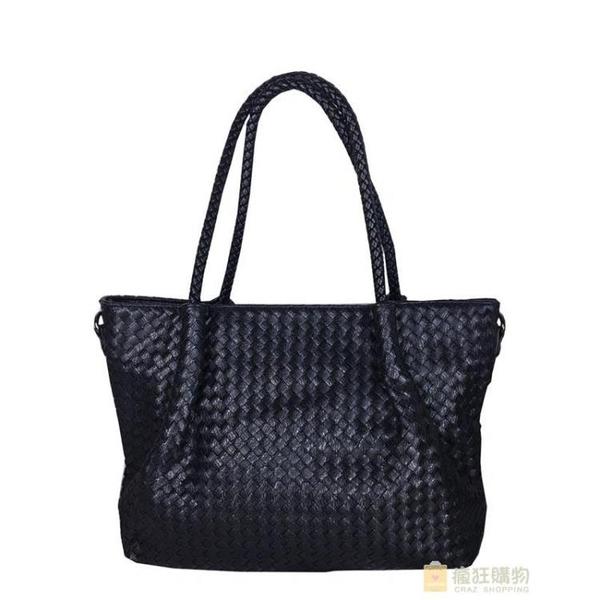 包包女正韓潮大容量女包編織單肩包大包大氣百搭斜背包 快速出貨