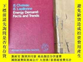 二手書博民逛書店Energy罕見Demand: Facts and Trends