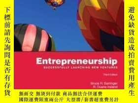 二手書博民逛書店Entrepreneurship:罕見Successfully Launching New Ventures (3