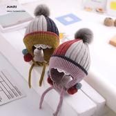 兒童護耳帽子冬季毛線帽1一3歲2男寶寶加絨保暖女童帽子秋冬天5潮