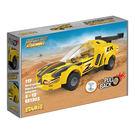 【BBlocks】基本顆粒  迴力車 黃色跑車 1203