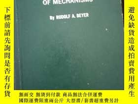 二手書博民逛書店THE罕見KINEMATIC SYNTHESIS OF MECH