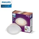 免運費 Philips飛利浦 Wi-Fi WiZ 智慧照明 可調色溫嵌燈 PW003