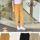 Queen Shop【04101350】側大口袋水洗休閒長褲 四色售*現+預*