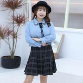 中大尺碼~百搭修身學院風短裙(XL~4XL)