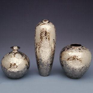 電鍍陶瓷 花瓶