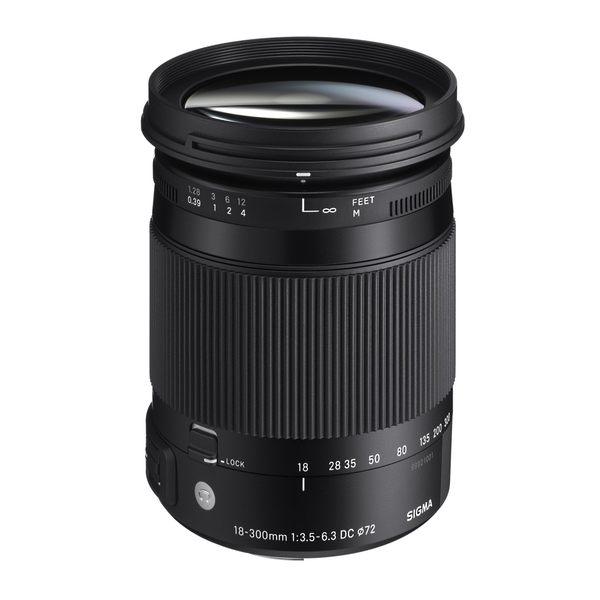 SIGMA 18-300mm F3.5-6.3 DC MACRO OS HSM [Contemporary] APS-C 旅遊鏡頭【恆伸公司貨 三年保固】