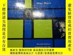 二手書博民逛書店Max罕見Born . Einstein s Theory of RelativityY354044 Max
