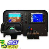 [8美國直購] Flight Velocity G1000 Cockpit Panel Compatible with Saitek Logitech G Flight Sim Hardware