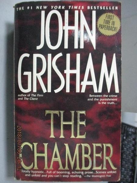 【書寶二手書T4/原文小說_LDE】The Chamber_John Grisham