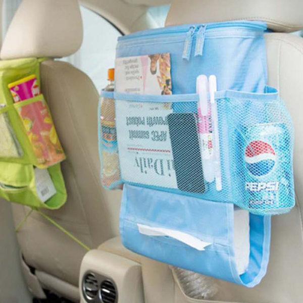 保溫袋【ZOW013】車用椅背掛式保溫收納袋 戶外 露營 釣魚 防水 野餐 便當 123ok