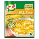 康寶濃湯自然原味火腿玉米49.7g x2入/袋【愛買】