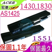ACER 電池(保固最久)-宏碁 電池-ASPIRE 1425P,1430,1551,1830,AS1430,BT.00603.113,BTP00.130,AL10C31