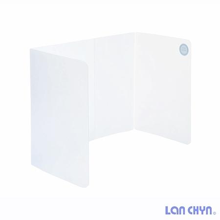 連勤 防疫隔板 攜帶式用餐隔板 折疊式隔板 LC-1902