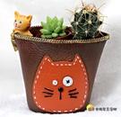 零錢包小貓咪花器 多肉植物,仙人掌花器 ...