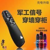 R400/R800教鞭筆遙控器投影筆幻燈片播放器PPT翻頁筆【元氣少女】