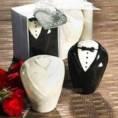 【BlueCat】婚禮小物 Sweet甜蜜相守新郎新娘調味罐禮盒組