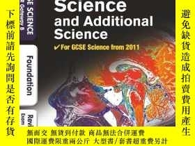 二手書博民逛書店GCSE罕見Science & Additional Scien